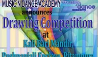 Drawing Competition By Music n Dance Academy